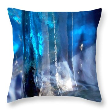 Abstract 2014 Throw Pillow