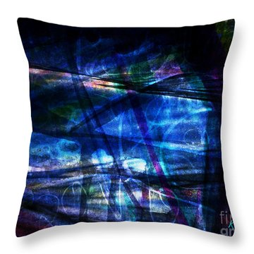 Abstract-20a Throw Pillow