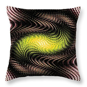 Abstract 213 Throw Pillow