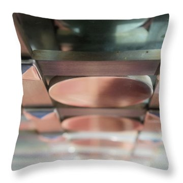 Abstract 218 Throw Pillow
