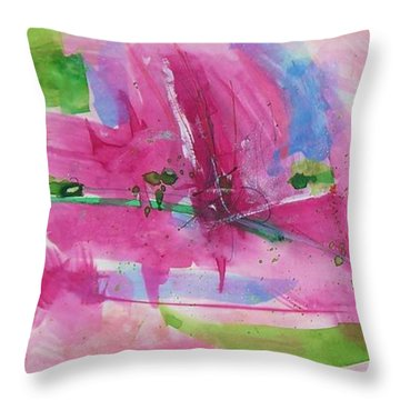 Abstract #219 Throw Pillow