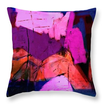 Abstract 21sept2015 Throw Pillow
