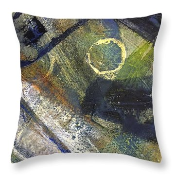Abstract 22.2 Throw Pillow by Shelley Graham Turner