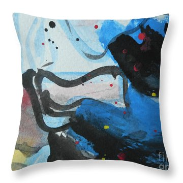 Abstract-26 Throw Pillow