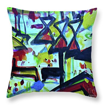 Abstract-27 Throw Pillow