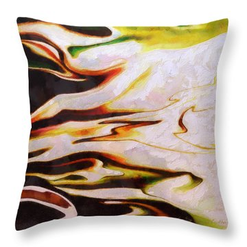 Abstract 27 Throw Pillow