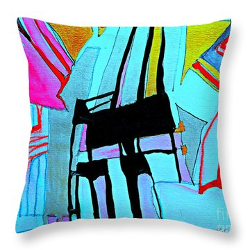 Abstract-28 Throw Pillow