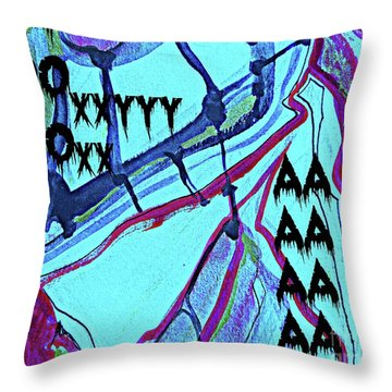 Abstract-29 Throw Pillow