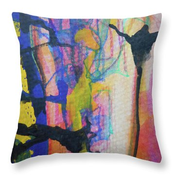 Abstract-3 Throw Pillow