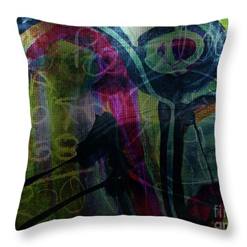 Abstract-30 Throw Pillow
