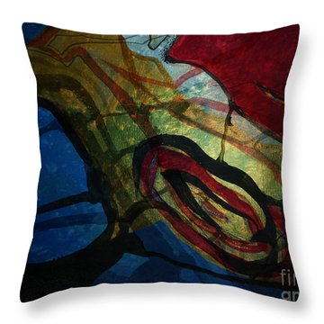 Abstract-31 Throw Pillow