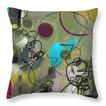 Abstract #31315 Throw Pillow
