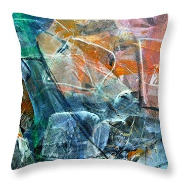 Abstract #326 - Happy Hour Throw Pillow