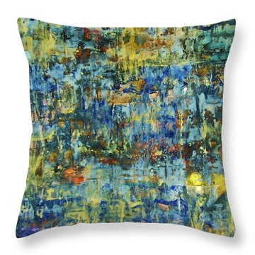 Abstract #329 Throw Pillow
