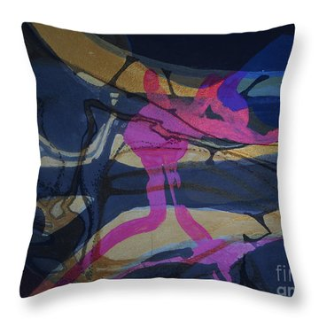 Abstract-33 Throw Pillow