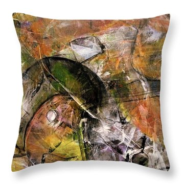 Spheres And Influence Throw Pillow