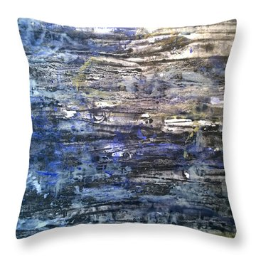 Abstract #334 Throw Pillow
