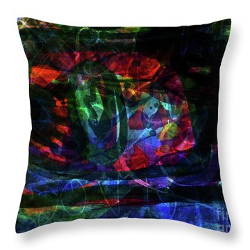 Abstract-34 Throw Pillow