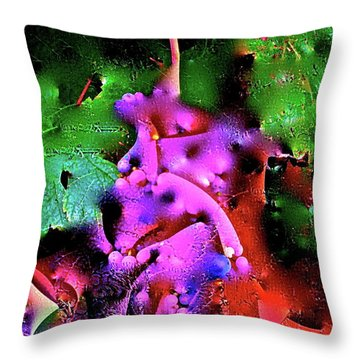 Abstract 35 Throw Pillow by Pamela Cooper