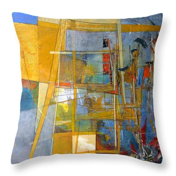 Abstract #38 Throw Pillow