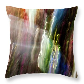Abstract-4 Throw Pillow