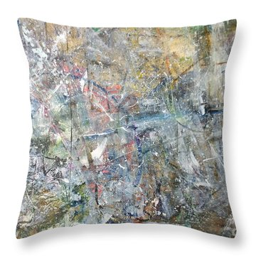 Abstract #415 Throw Pillow