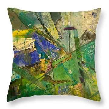 Abstract #41715 Throw Pillow