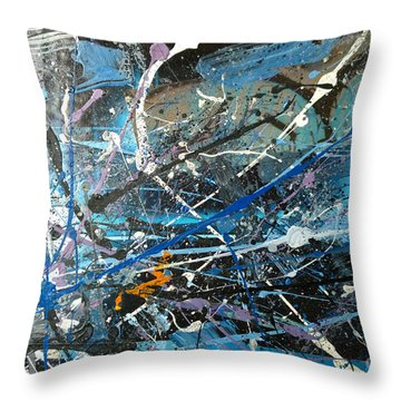 Abstract #419 Throw Pillow