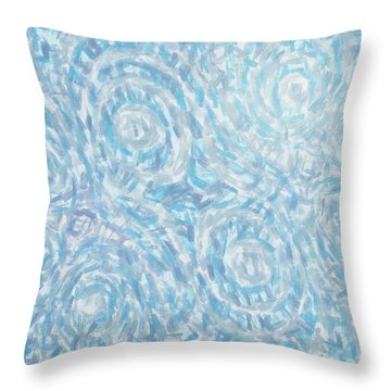 Abstract 432 Throw Pillow