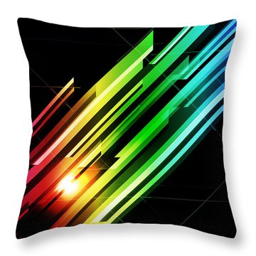 Futuristic Throw Pillows
