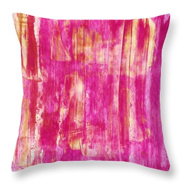 Live Bravely Throw Pillow