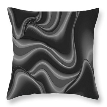 Abstract 515 2 Throw Pillow by Kae Cheatham