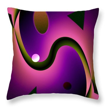 Abstract 515 6 Throw Pillow