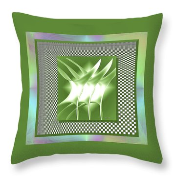 Abstract 54 Throw Pillow by Iris Gelbart