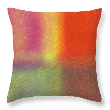 Abstract 5791 Throw Pillow