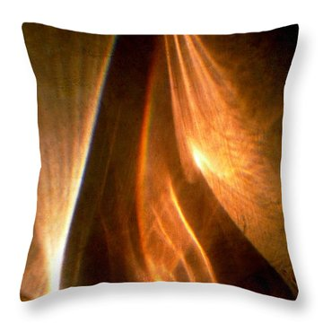 Abstract 598 Throw Pillow by Stephanie Moore