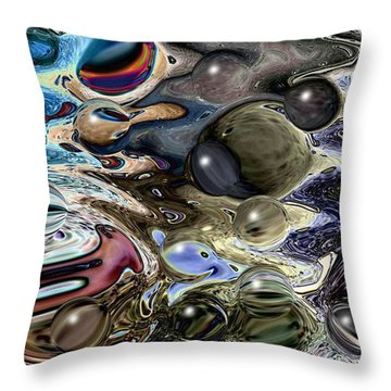 Abstract 623164 Throw Pillow