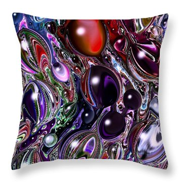 Abstract 62316.7 Throw Pillow