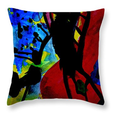 Abstract-7 Throw Pillow