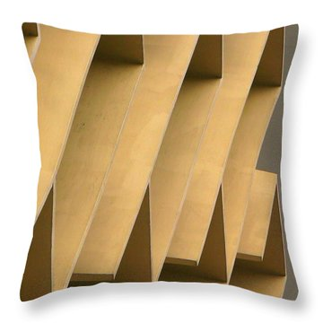 Abstract 7277 Throw Pillow