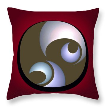 Abstract 8 2017 Throw Pillow