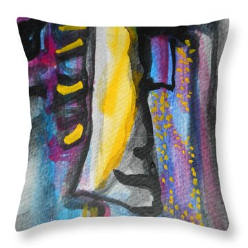 Abstract-8 Throw Pillow