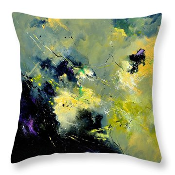 Abstract 8821603 Throw Pillow by Pol Ledent