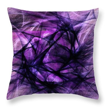 Abstract 8930 Throw Pillow