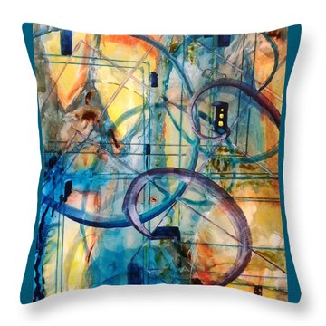 Abstract Appeal Throw Pillow