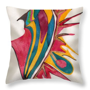 Abstract Art 102 Throw Pillow