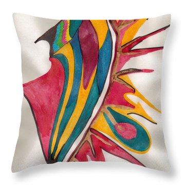 Abstract Art 102 Throw Pillow