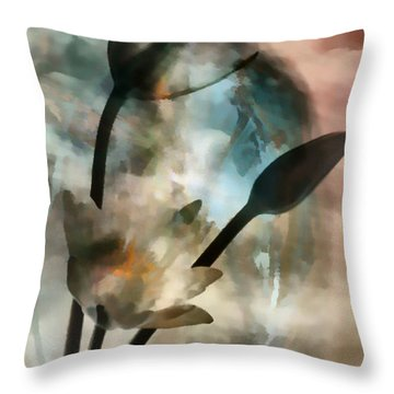 Abstract Art  A Special Place In Heaven Throw Pillow