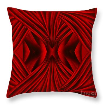 Abstract Art - Hot Secrets By Rgiada Throw Pillow