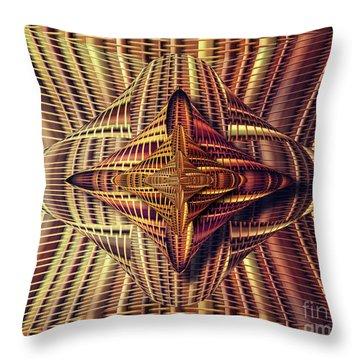 Abstract Basket 6 Throw Pillow